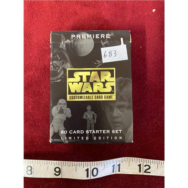 1 Sech Star wars Gaming Cards Open But Mint Condition