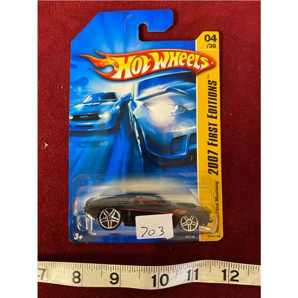 """Hot wheels 69 Ford Mustang """"First Edition"""""""