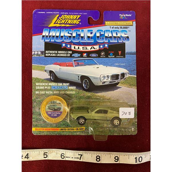 Rare Johnny Lightning 1968 Mustang Shelby 1 Of 20,000