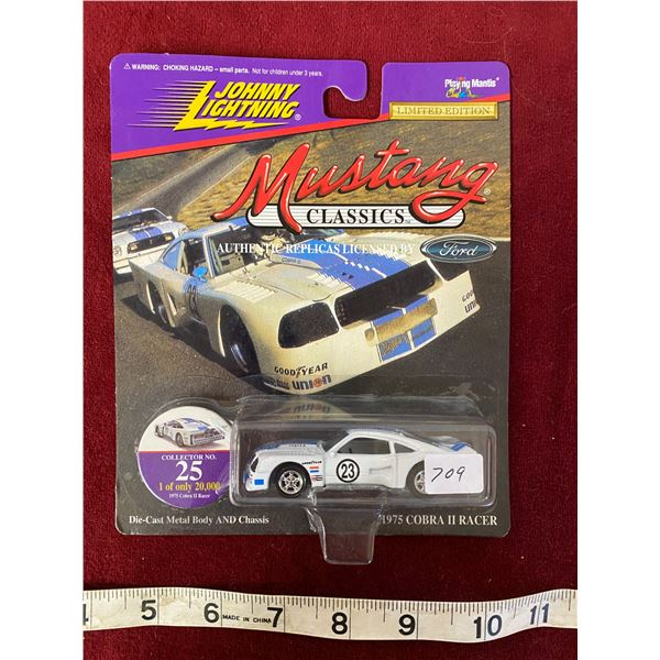 Rare Johnny Lightning 1975 Cobalt Mustang 1 Of 20,000