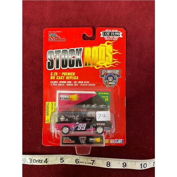 Jeff Burton Nascar Mustang 50th Anniversary 1 Of 19.998