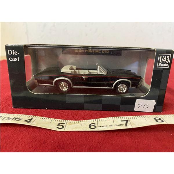 Die Cast 1966 Pontiac GTO Black