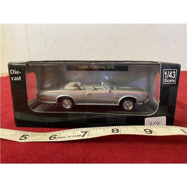Die Cast 1966 Pontiac GTO Silver