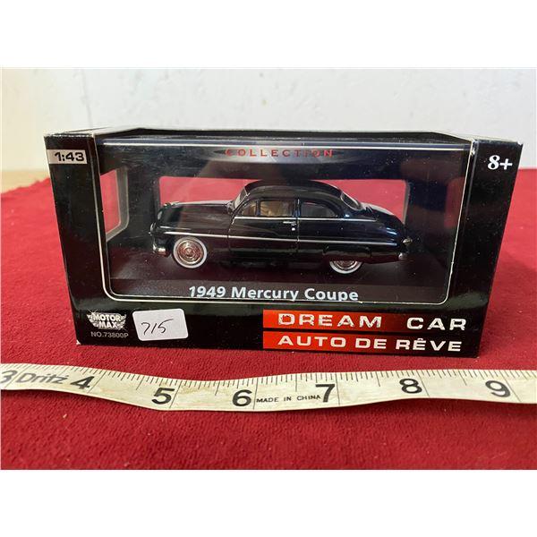 Diecast 1949 Mercury Coupe