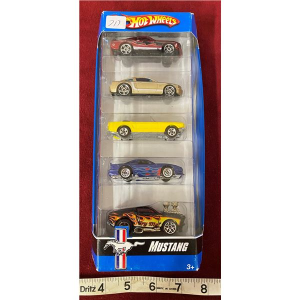 Hot wheels Classic Mustang 5 Pack