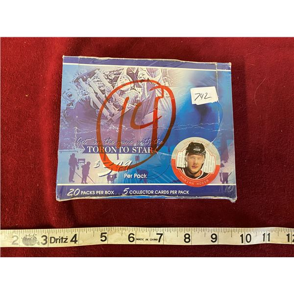 2003 Unopened Toronto Star Hockey Box