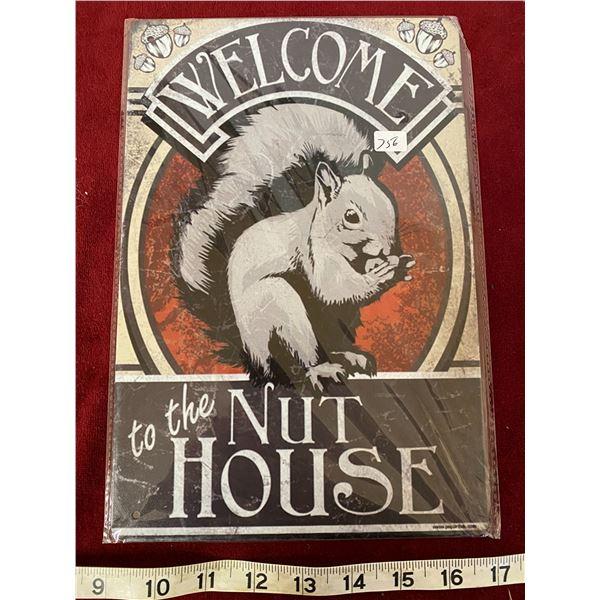 Nut House Sign