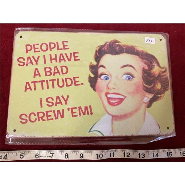 Screw Em Sign