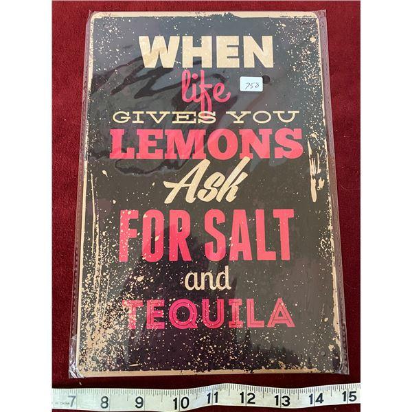 Lemons Sign
