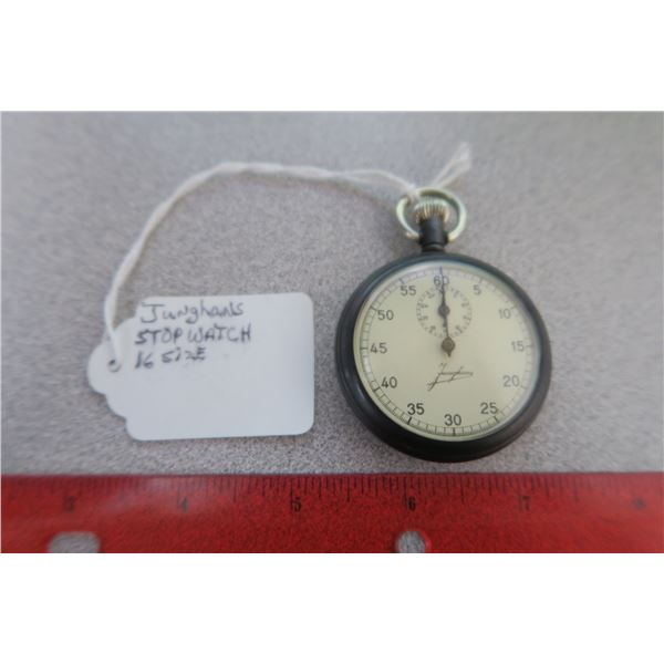 Junghans size 16 stop watch