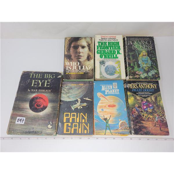 7 vintage sci-fi books