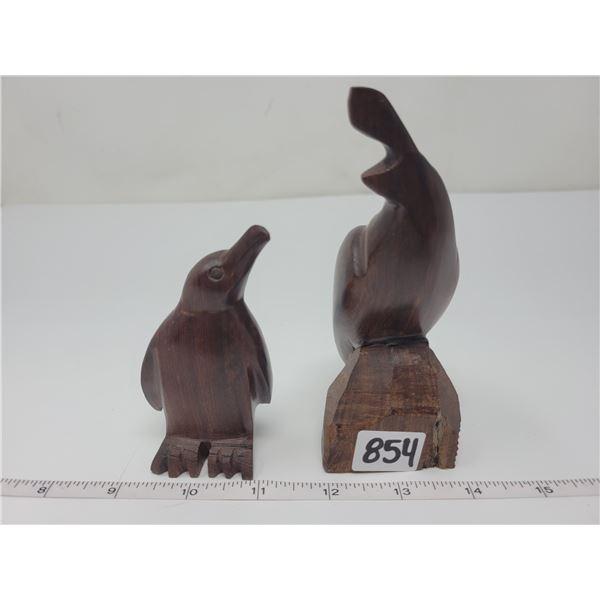 Ironwood quail & penguin