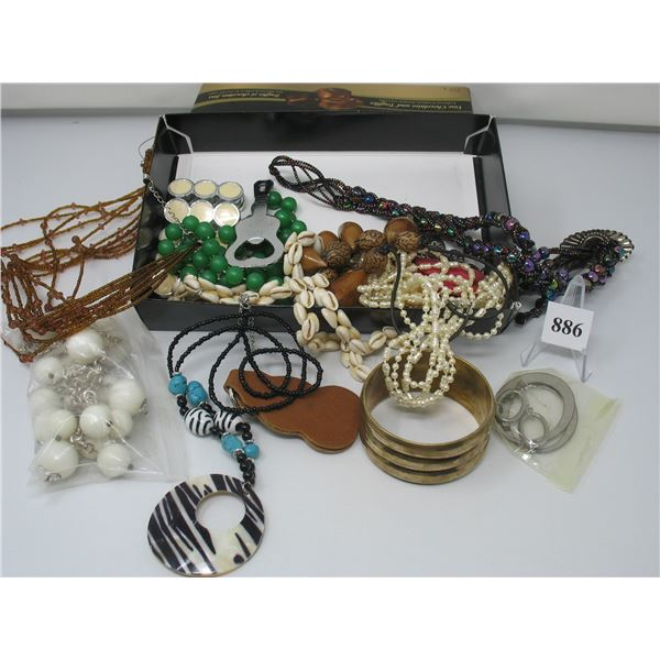COSTUME JEWELRY LOT - Full Box