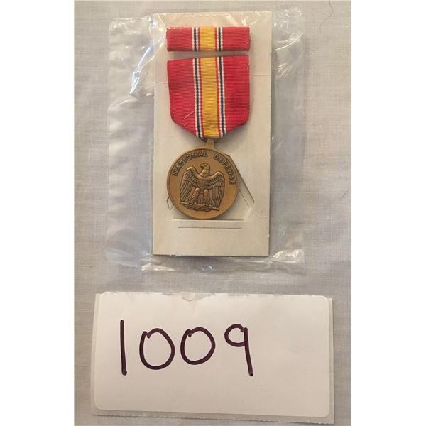 1009 - American national defense service medal