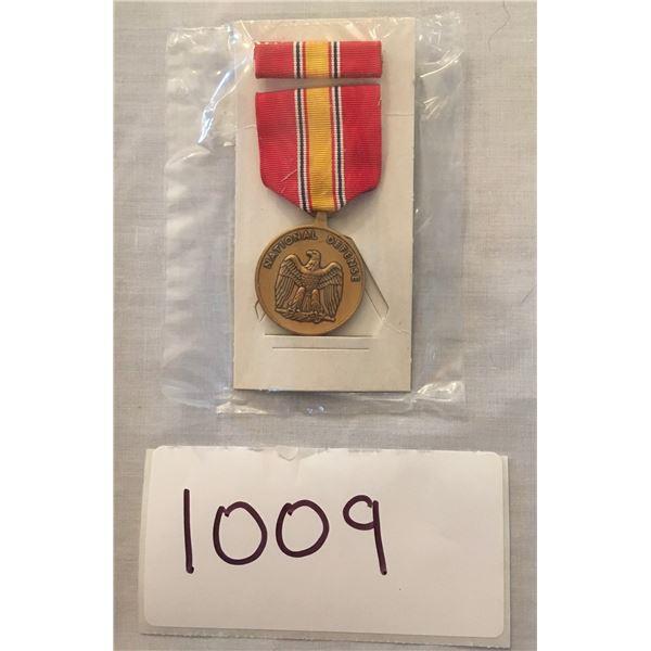 1009 - American national defense service medal