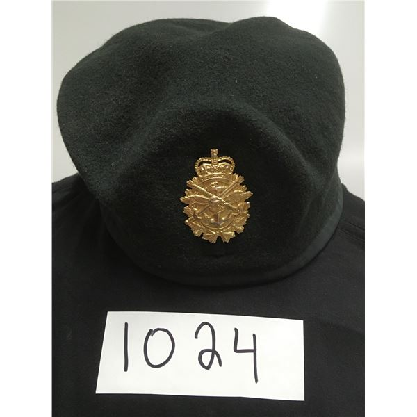 1024 - military beret, canadian forces