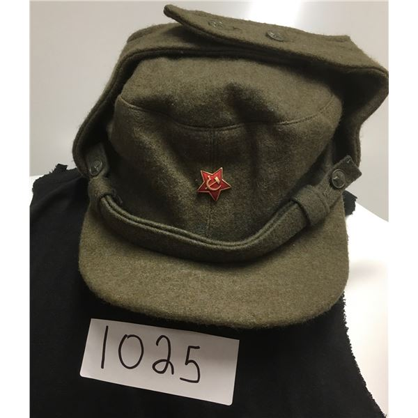 1025 - Cold War Russian wool hat