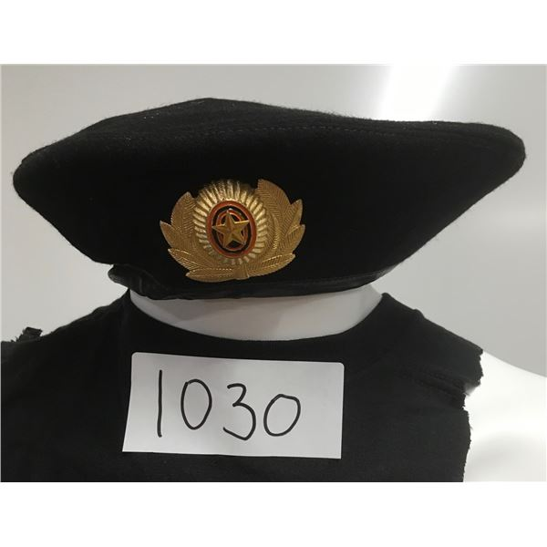 1030 - Military Beret, From USSR
