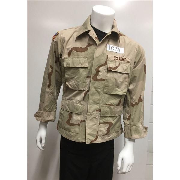 1033 - US army desert camo jacket