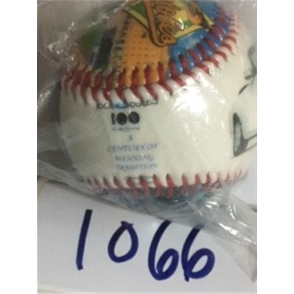 1066-COLLECTOR BASEBALL LIMITED EDITION LOCAL FORD DEALERS, A CENTURY OF WINNING TRADITIONS. ORIGINA