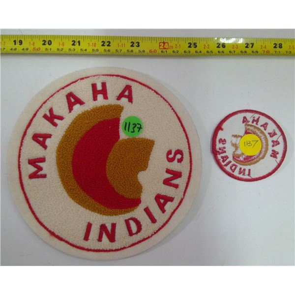 Makaha Indians Patches - 2