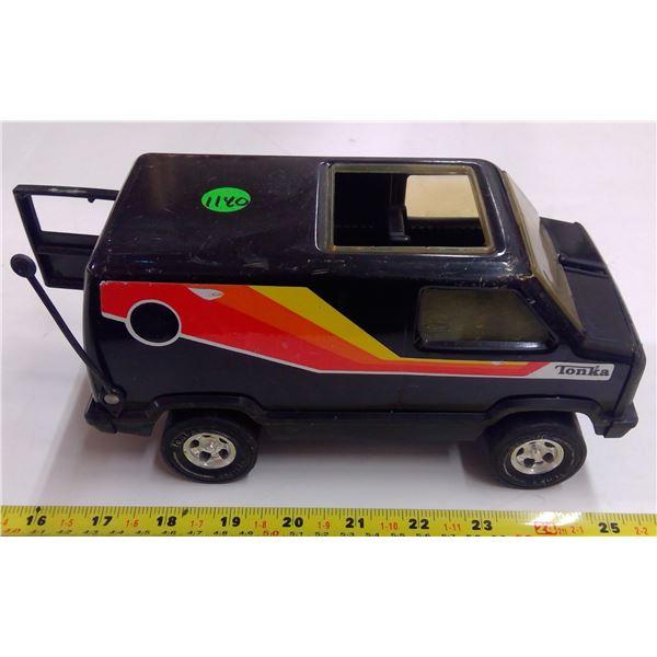 "Steel Tonka Custom Van -  8.5""L"