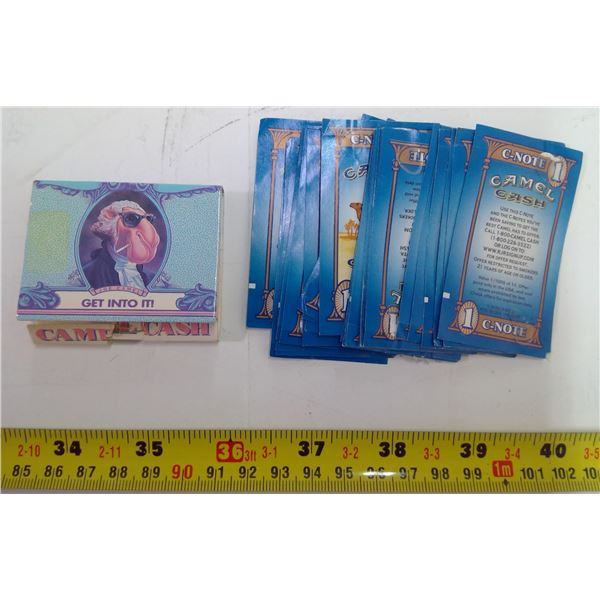 Camel Tobacco Matches & Coupons