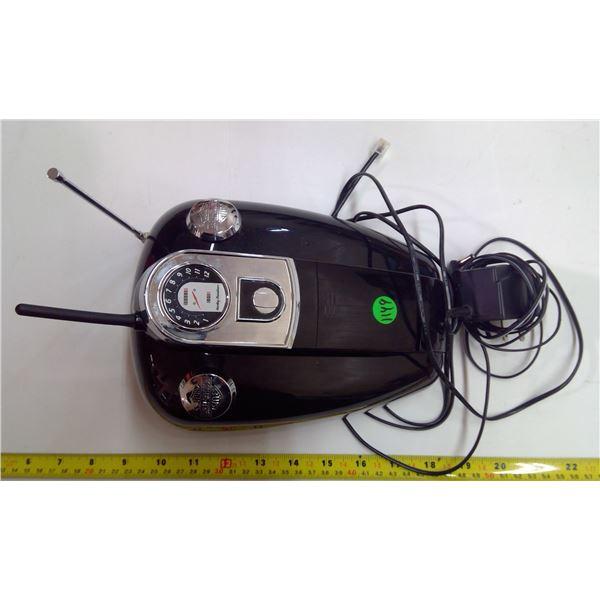 Harley-Davidson Portable Gas Tank Phone