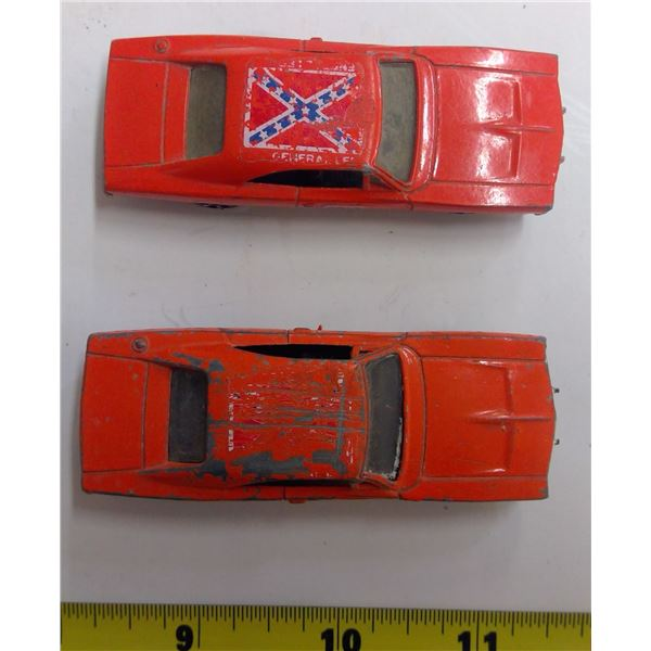 Two - 1981 - 1/64 Scale Dukes Cars (ERTL)