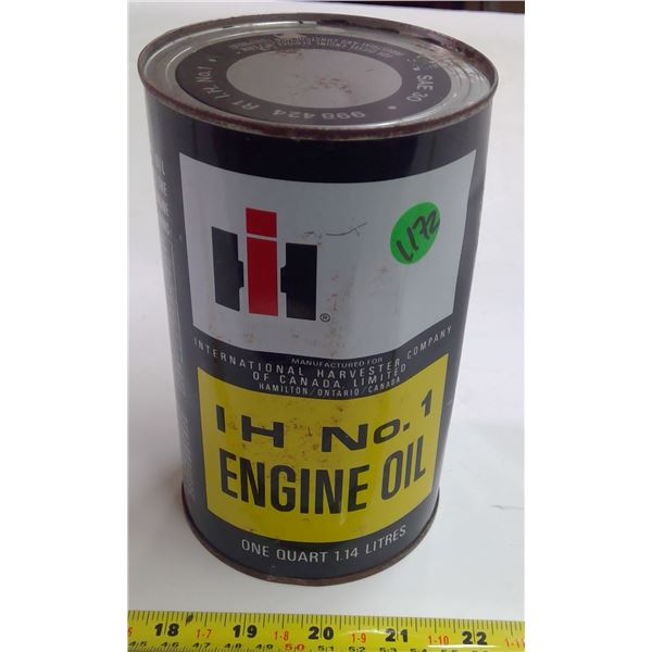 Full IH Quart Oil Can