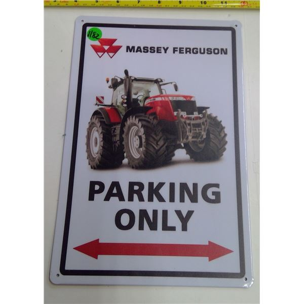 "12""x9"" Reproduction Signs - Parking Only"