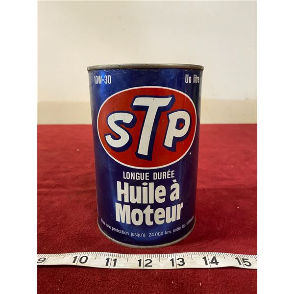 STP Motor Oil Tin (Nice) Empty