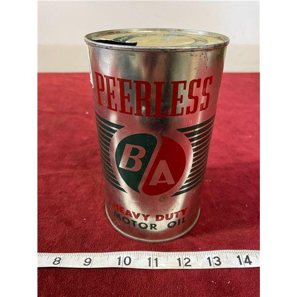 Peerless BA Motor Tin Empty