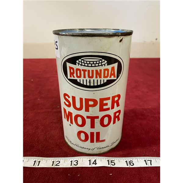 Rotunda Motor Oil Tin Empty (Nice)