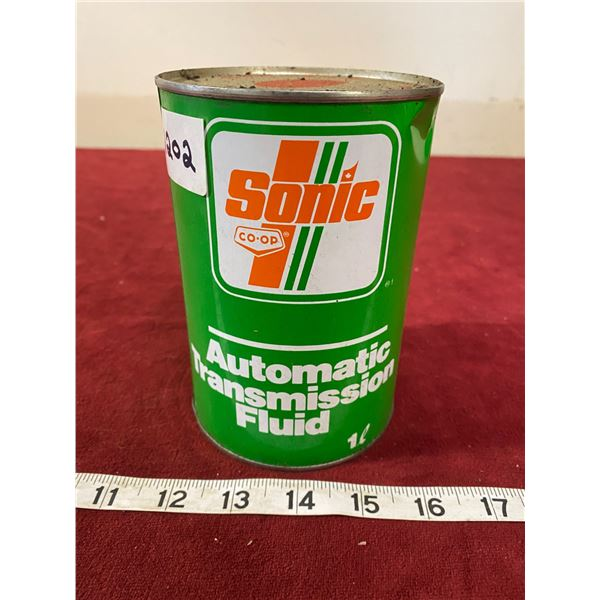 Co-op Sonic Transmission Tin Empty (Nice)