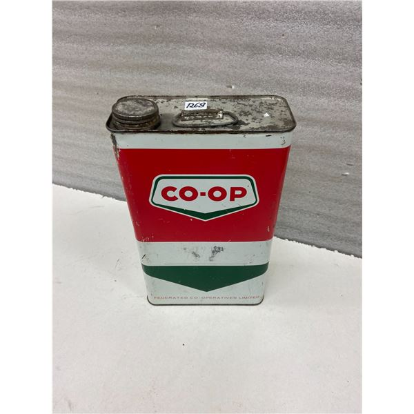 CO-OP oil tin - 1 Gallon