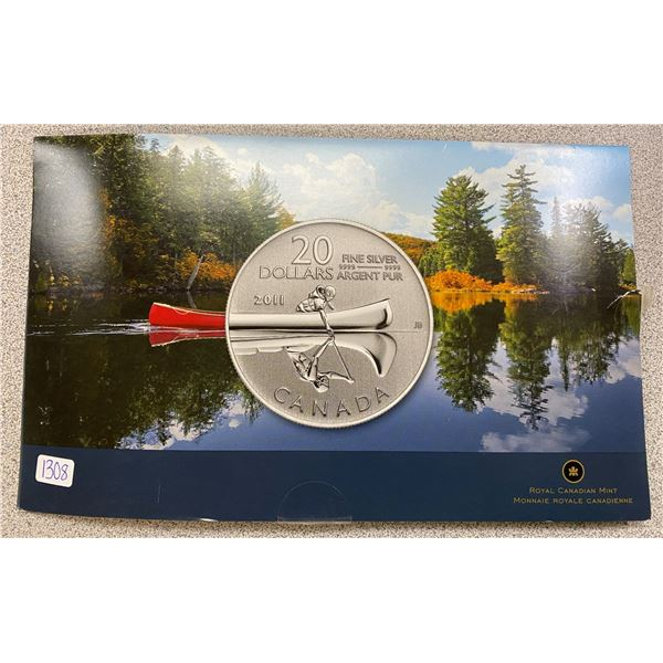 Sterling Silver Canoe Star Trek Coin