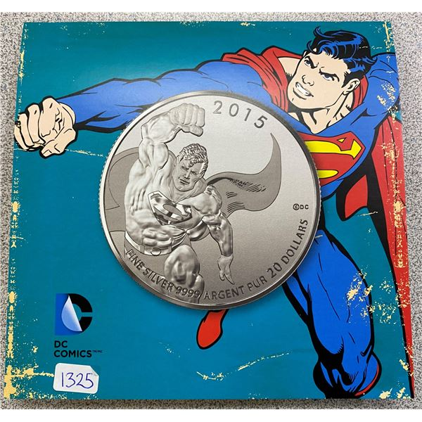 Sterling Silver Superman Coin