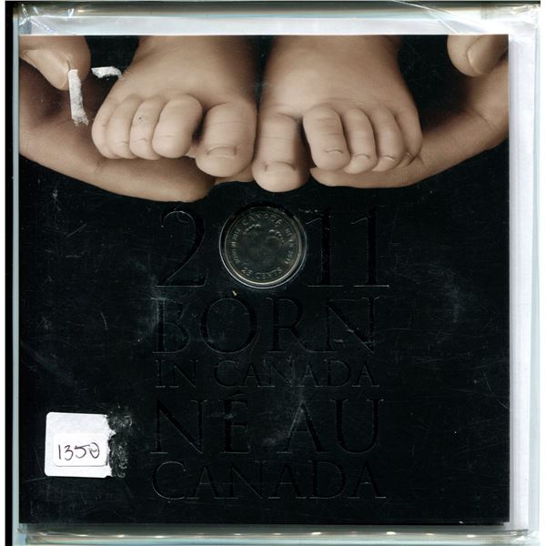2011 Born in Canada mint set