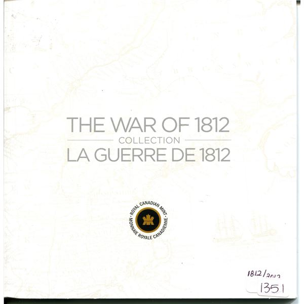 The war of 1812 Canadian mint set,