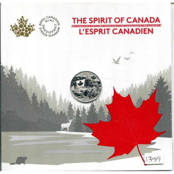 2017 The Spirit of Canada $3 fine silver oin