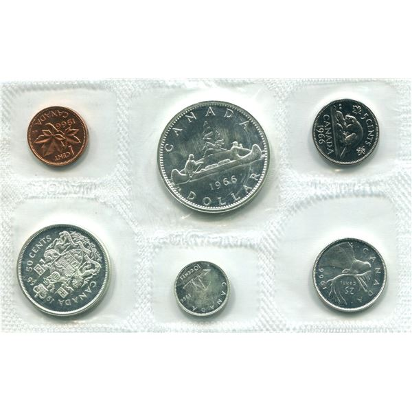 1966 (L.Beads) Canadian Proof Set Coins