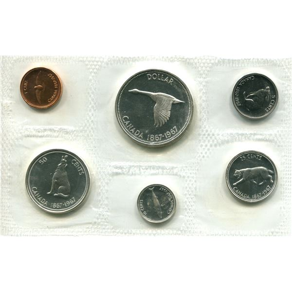 1967 (Normal) Canadian Proof Set Coins