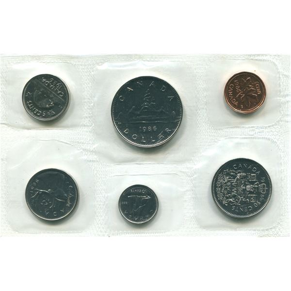 1968 (Normal) Canadian Proof Set Coins