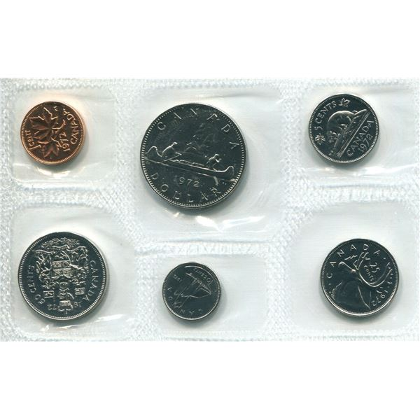 1972 Canadian Proof Set Coin