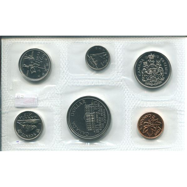 1973 Canadian Proof Set Coins (Far S.B)