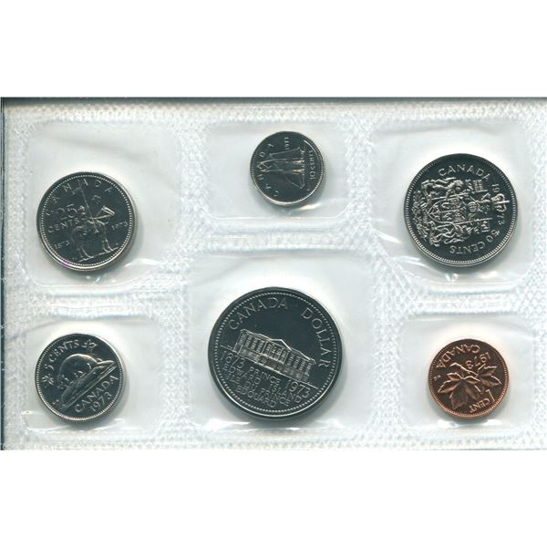 1973 (Large Bust) Canadian Proof Set Coins