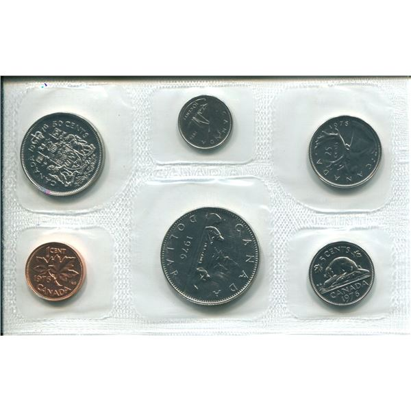 1976 (Attach J.) Canadian Proof Set Coins
