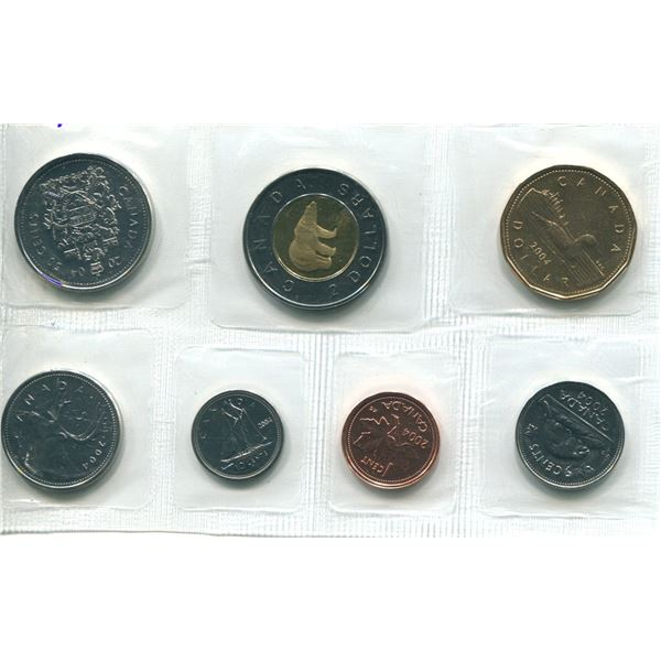 2004 Canadian Proof Set Coins