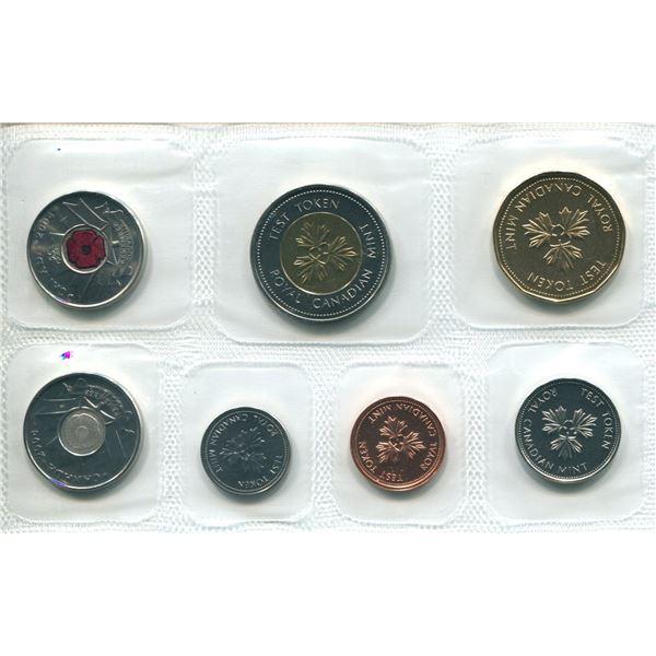 2004 Canadian Proof Set Coins (Test Token Set)